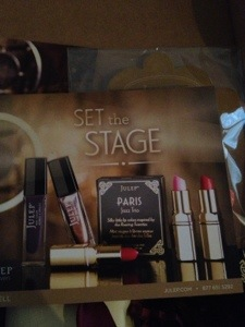 Set the Stage May 2013 Julep BOMBSHELL box